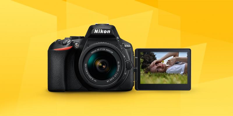 Máy ảnh NIKON D5600 KIT AF-P 18-55 VR (Hàng nhập khẩu)