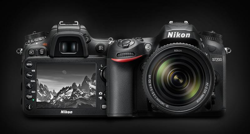 Máy ảnh Nikon D7200