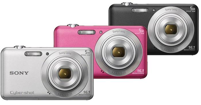 Máy ảnh Sony Cyber Shot DSC-W670 có nhiều màu sắc cho bạn lựa chọn