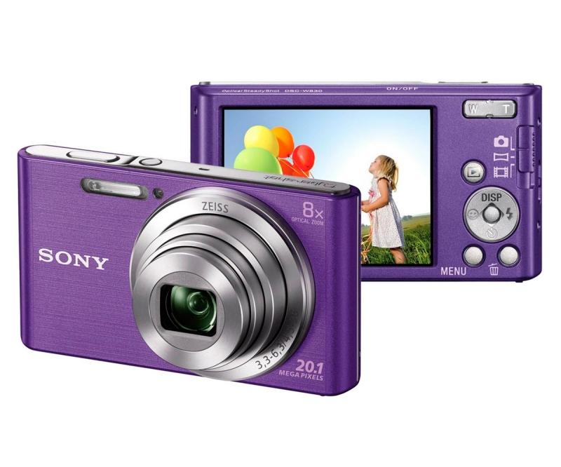 Máy ảnh Sony DSC-W830/SCE32 màu tím thời thượng