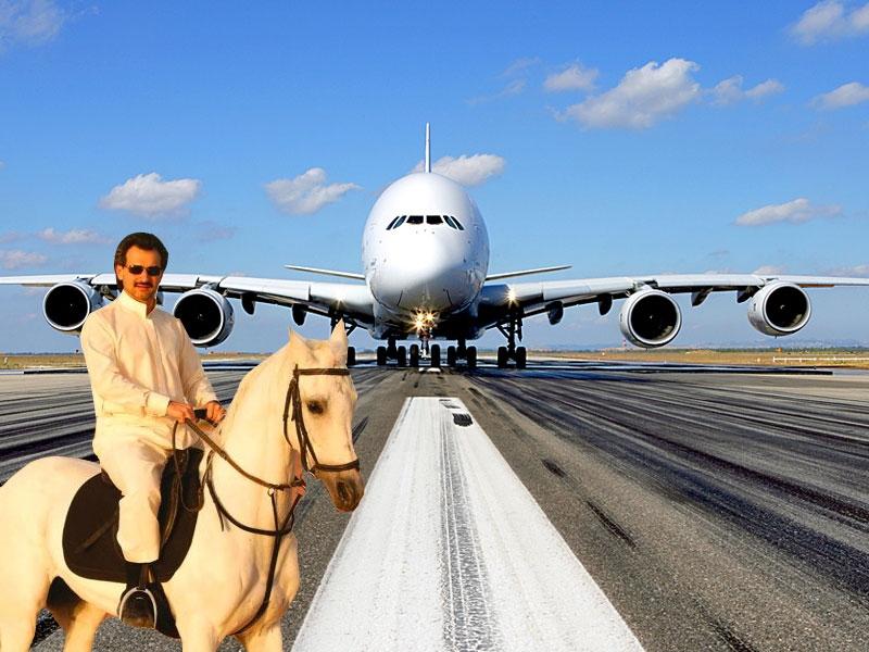 Máy bay tư nhân của hoàng tử Ả-rập Xê-út có giá 800 triệu USD