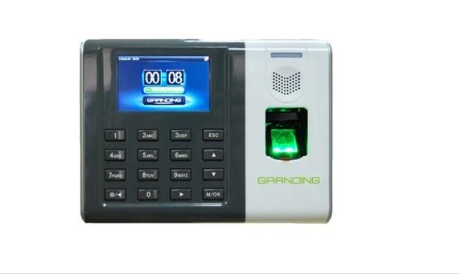 Máy chấm công vân tay và thẻ cảm ứng Granding DG-100