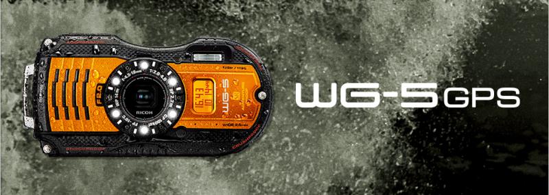 Máy ảnh Ricoh WG-5 GPS