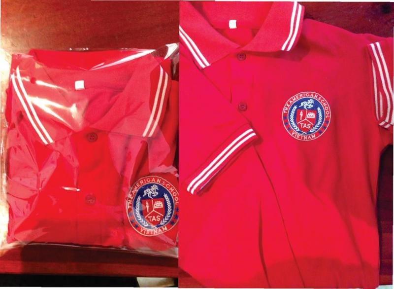 Một sản phẩm áo hè May đo đồng phục học sinh Vest Nguyễn