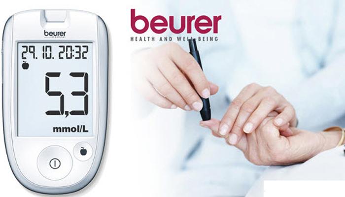 Máy đo đường huyết Beurer GL42 mmol/Dl vô cùng thông dụng và chính xác