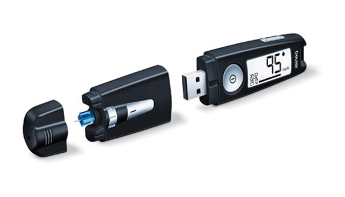 Máy đo đường huyết Beurer GL50 màu đen