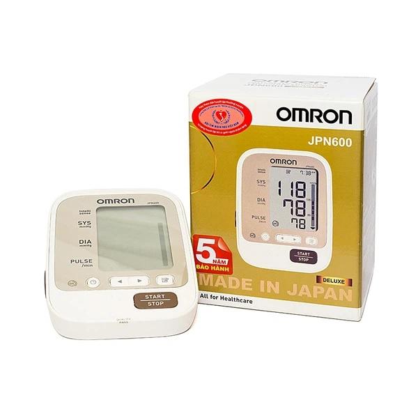 Máy đo huyết áp bắp tay Omron mã JPN600