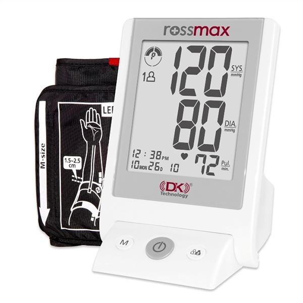 Máy đo huyết áp bắp tay Rossmax AC – 701 - Loại máy đo huyết áp tốt bạn nên mua nhất