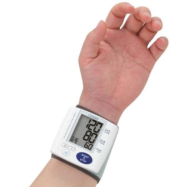 Máy đo huyết áp cổ tay Citizen CH - 657 - Loại máy đo huyết áp tốt bạn nên mua nhất