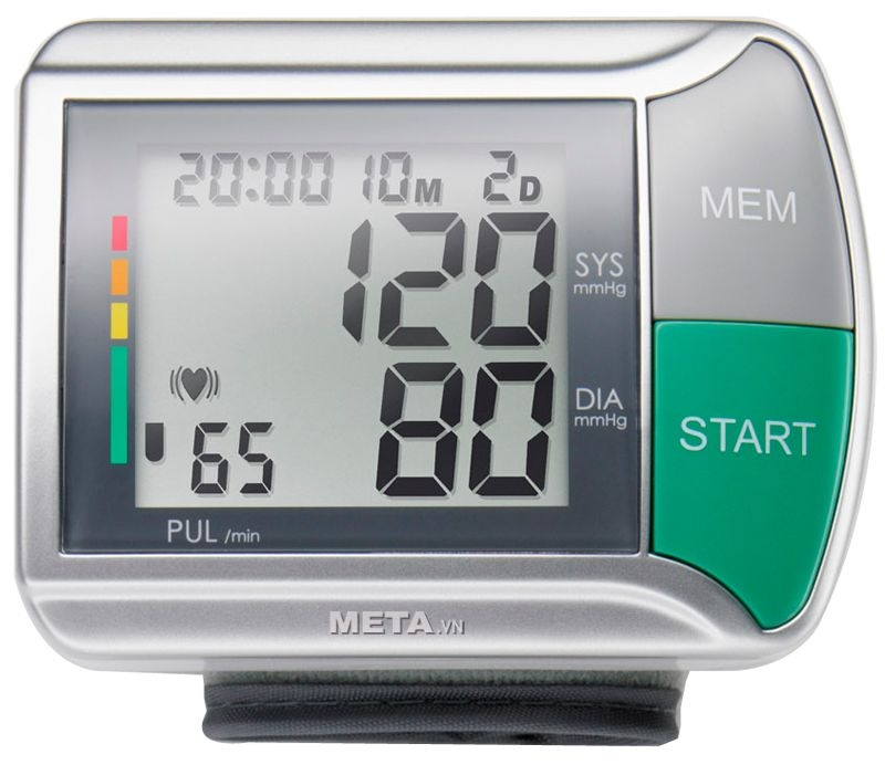 Máy đo huyết áp cổ tay Medisana HGN - Loại máy đo huyết áp tốt bạn nên mua nhất