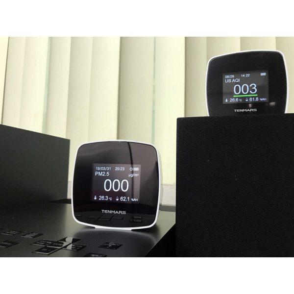 Máy đo nhiệt độ độ ẩm bụi Tenmars TM-280