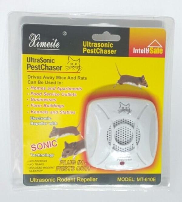 UltraSonic PestChaser sẽ khiến lũ chuột tránh xa ngôi nhà của bạn
