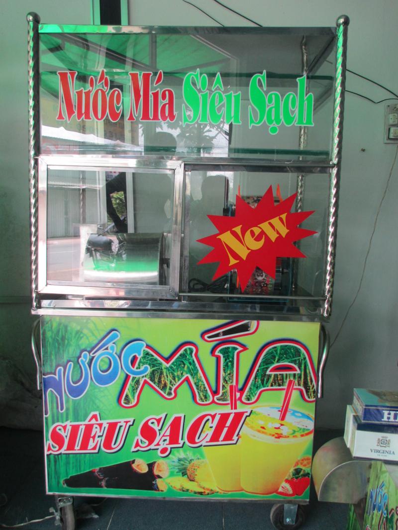 Máy ép nước mía siêu sạch Việt Thống