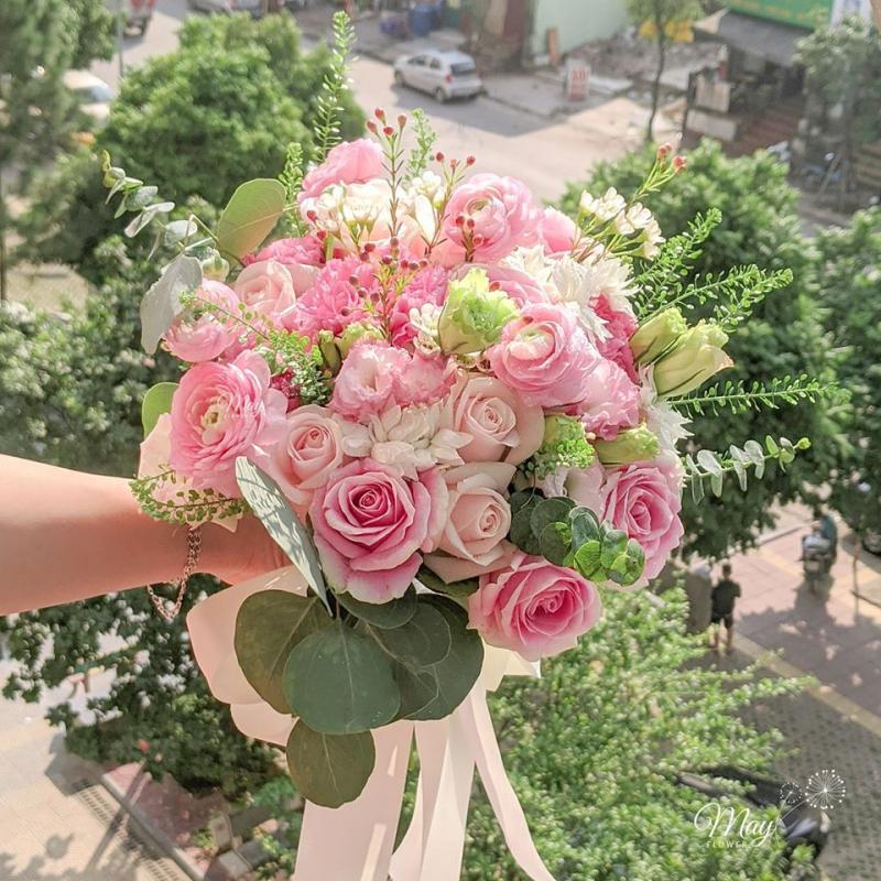 Bó hoa cưới ngọt ngào