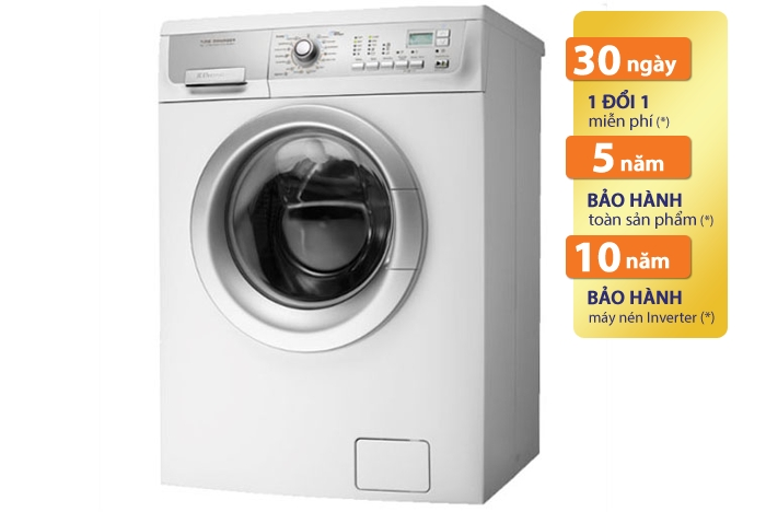 Bạn sẽ không phải lo lắng ngay cả trong những ngày mưa với máy giặt sấy Electrolux EWW1273 7 kg