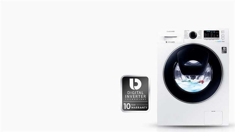 Máy giặt 8 Kg Samsung Addwash WW80K5410WW/SV lồng ngang