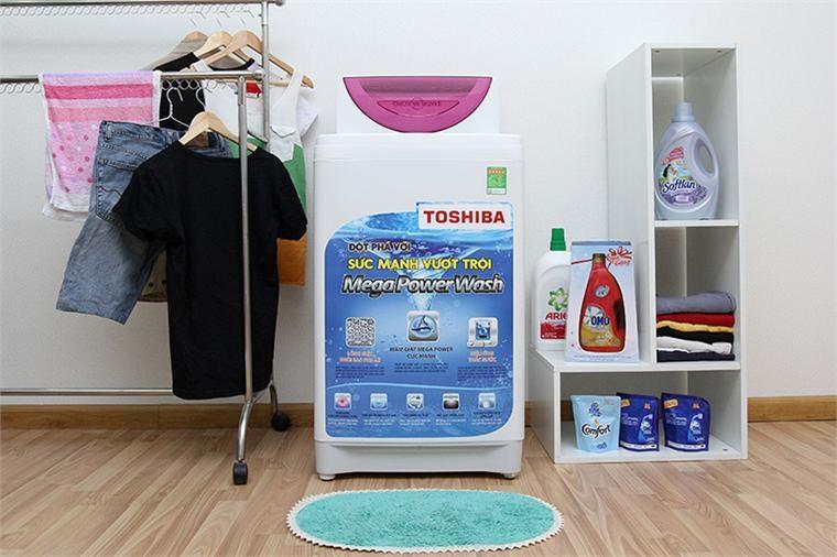 Máy giặt Toshiba AW-E920LV sở hữu thiết kế hiện đại, mạnh mẽ