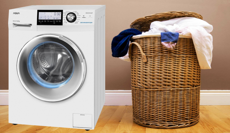 Máy giặt Aqua 9.8KG AQD-D980AZT(W)