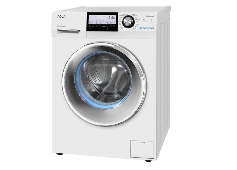 Aqua AQD-D980ZT có thiết kế cửa giặt ngang rất dễ sử dụng