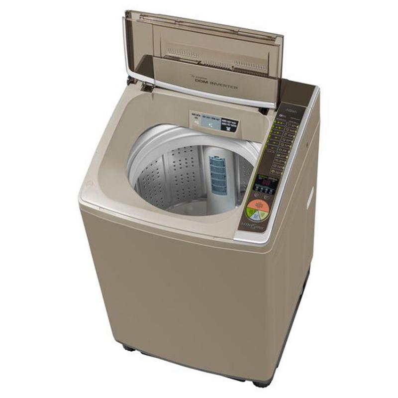 máy giặt Aqua đã được trang bị bộ lọc cải tiến sẽ giúp loại bỏ sạch sẽ xơ vải của quần áo