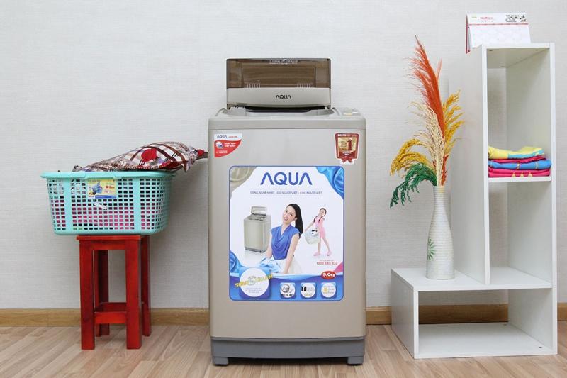 Aqua AQW-U90ZT sẽ giúp không gian nội thất của gia đình bạn trở nên nổi bật và hiện đại