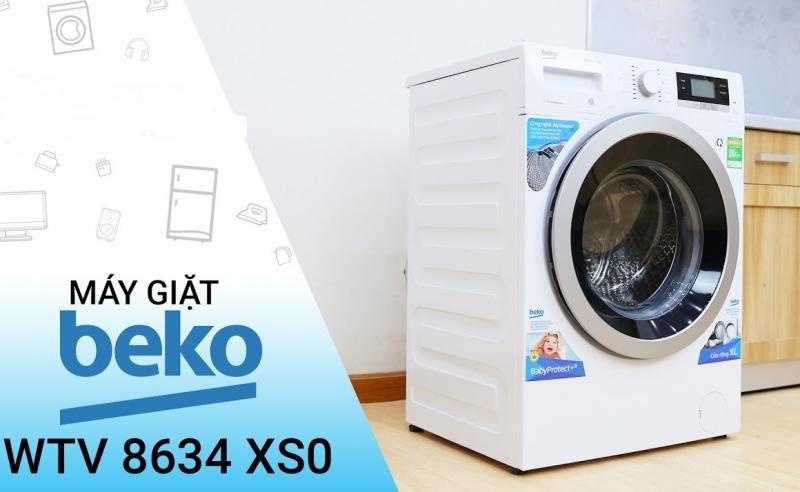 Những chiếc máy giặt của Beko sở hữu những ưu điểm tuyệt vời