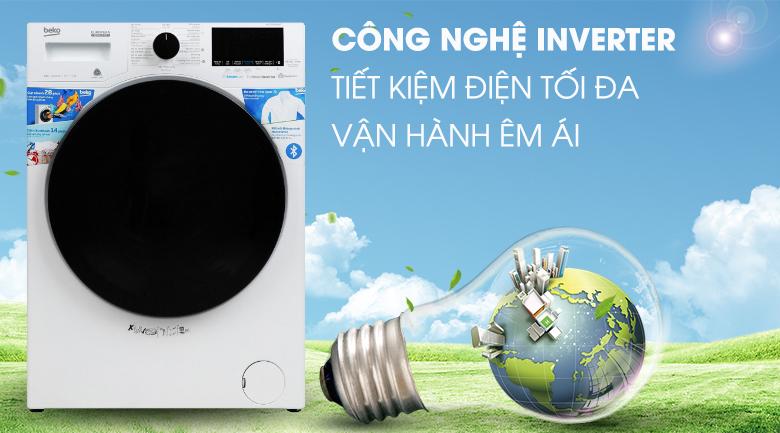Máy giặt Beko Inverter 8 kg WCV8649XWST