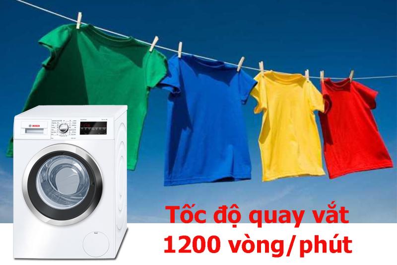 Máy giặt Bosch WAP-28380SG tốc độ vặt cực nhanh