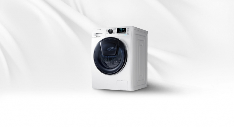 Samsung WW10K6410QX/SV thuộc dòng máy giặt AddWash