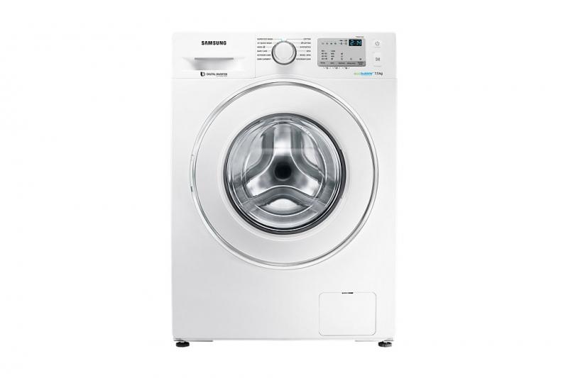 Máy giặt cửa ngang Samsung WW80J4233GW/SV sở hữu thiết kế vô cùng hiện đại