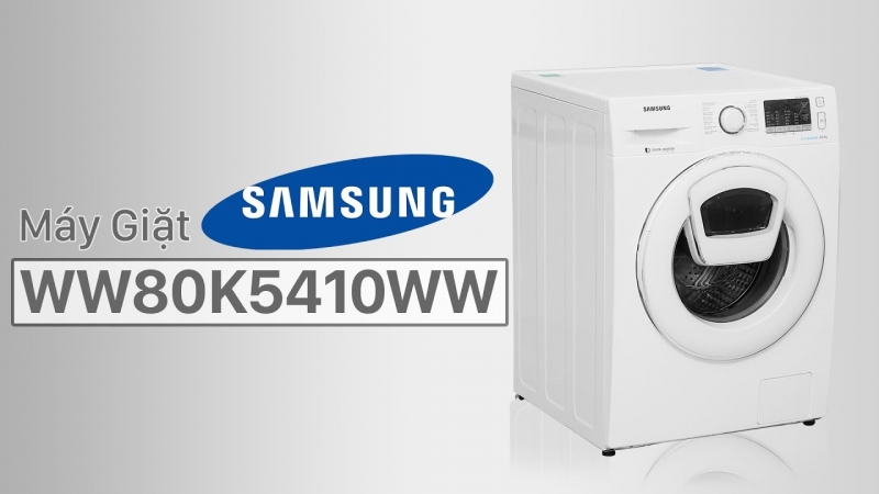 WW80K5410WW/SV là một trong những chiếc máy giặt Samsung cửa ngang tốt nhất hiện nay