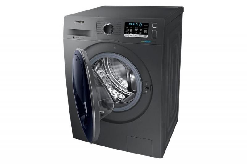 Máy giặt cửa ngang Samsung WW80K5410US/SV sở hữu thiết kế vô cùng sang trọng