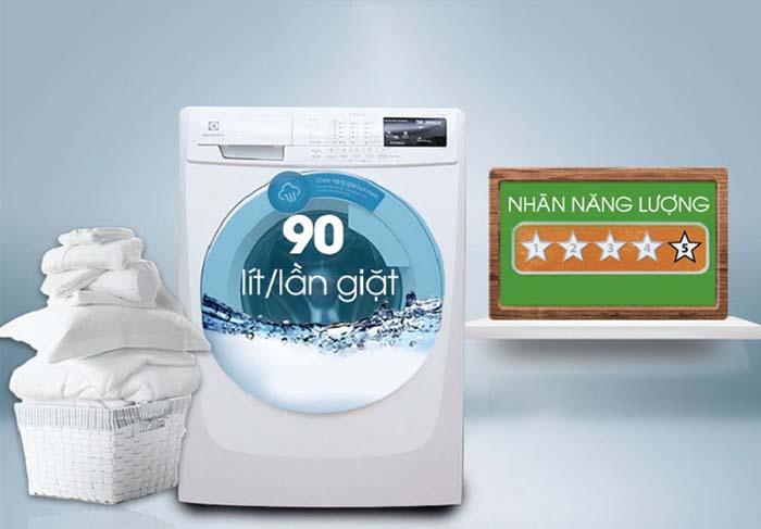 Máy giặt Electrolux 7,5kg inverter lồng ngang EWF85743