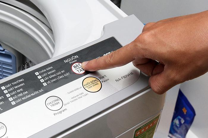 Máy giặt hoàn toàn không hoạt động