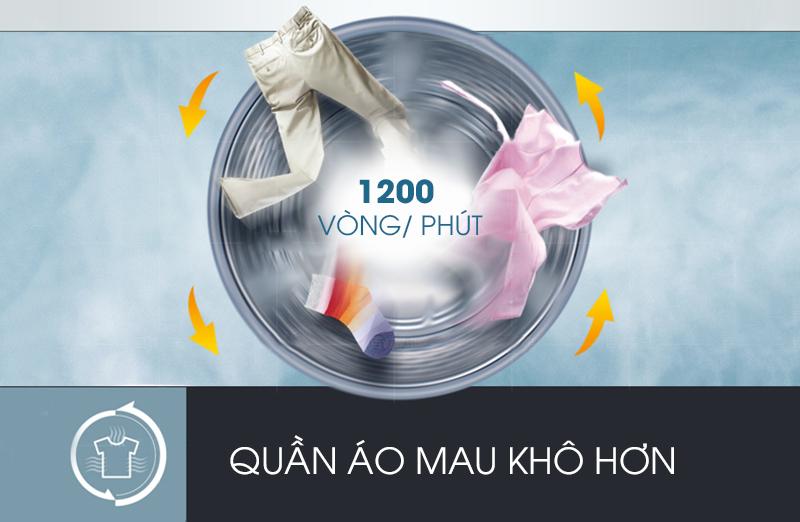 Máy giặt LG 8 kg F1208NPRW