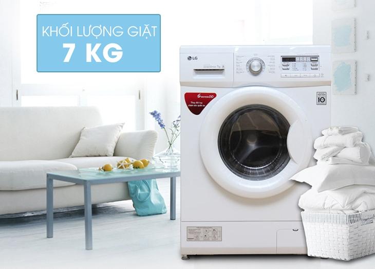 Máy giặt LG F1207NM PW