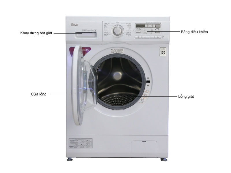 Máy giặt LG F1207NMPW