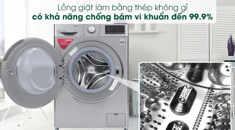 Máy giặt LG Inverter FV1408S4V