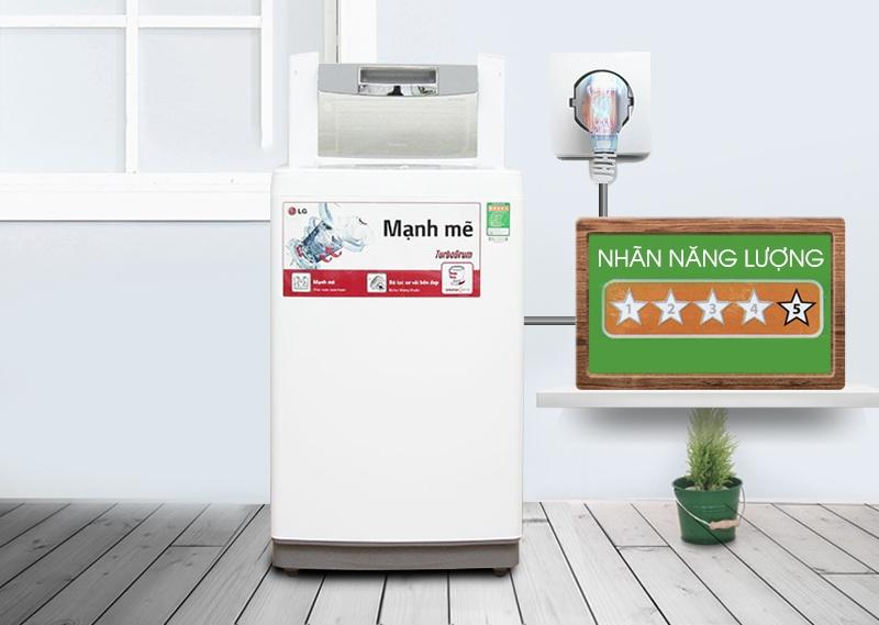 LG WF-S8019BW là một trong những chiếc máy giặt LG 8kg tốt nhất hiện nay
