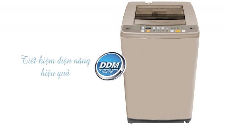 Máy giặt Aqua AQW-DQW90ZT sử dụng lồng đứng