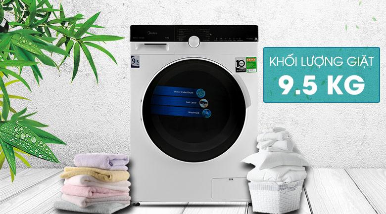 Máy giặt Midea Inverter 9.5 Kg MFK95-1401WK