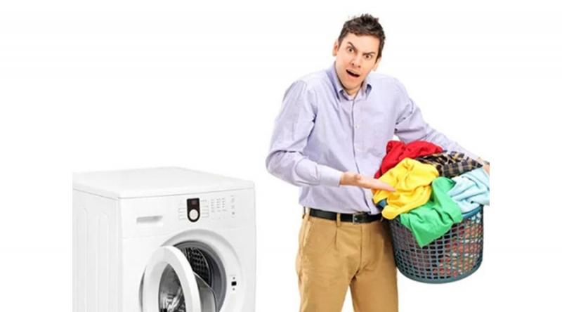 Nước không chảy vào thùng khi giặt và vắt