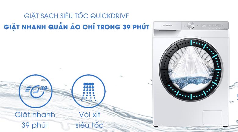 Máy giặt Samsung Inverter 10kg WW10TP44DSH/SV