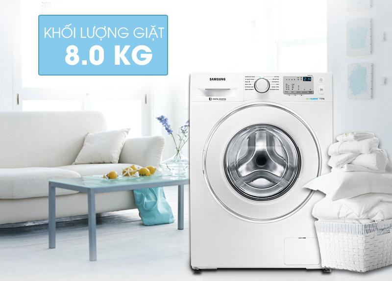 Máy giặt Samsung WW80J4233GW/SV