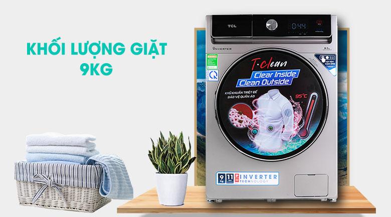 Máy giặt TCL Inverter 9 Kg TWF90-K14508DC04