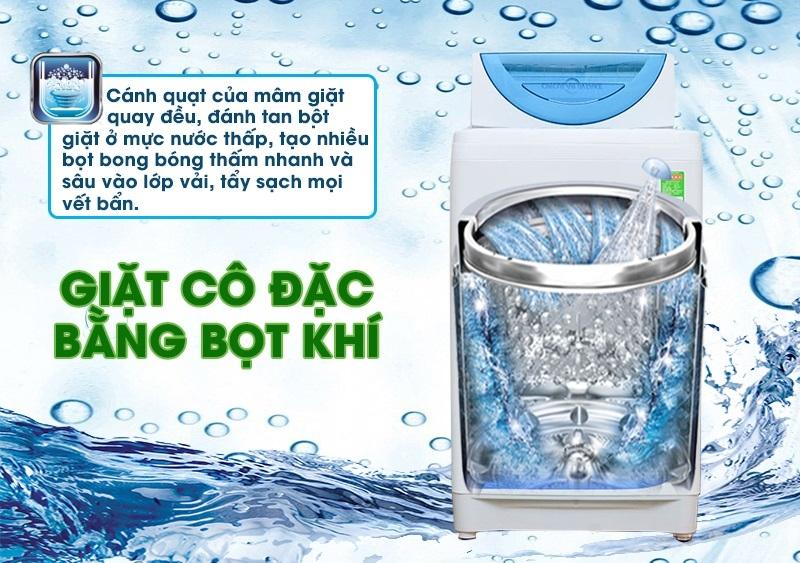 Giặt cô đặc bằng bọt khí