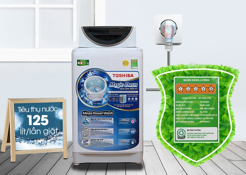 Tiết kiệm điện năng và nước