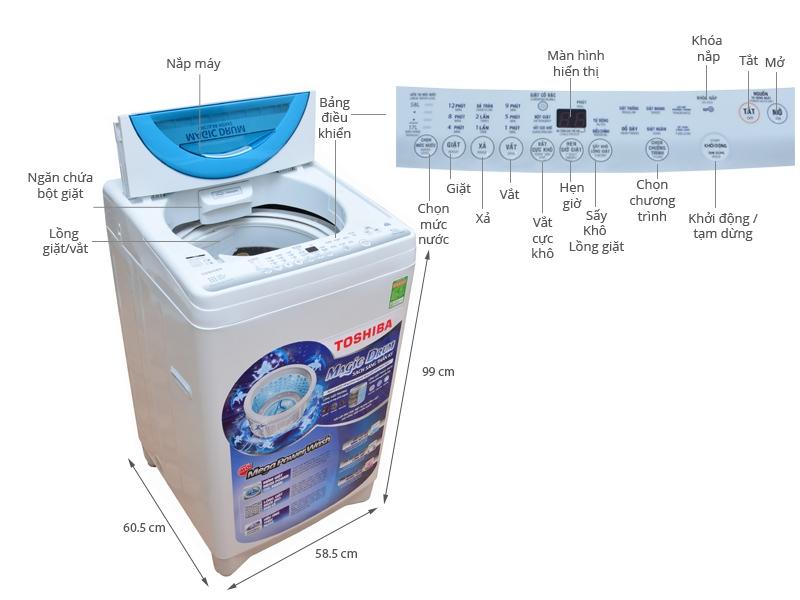 Máy giặt Toshiba AW-ME920LV