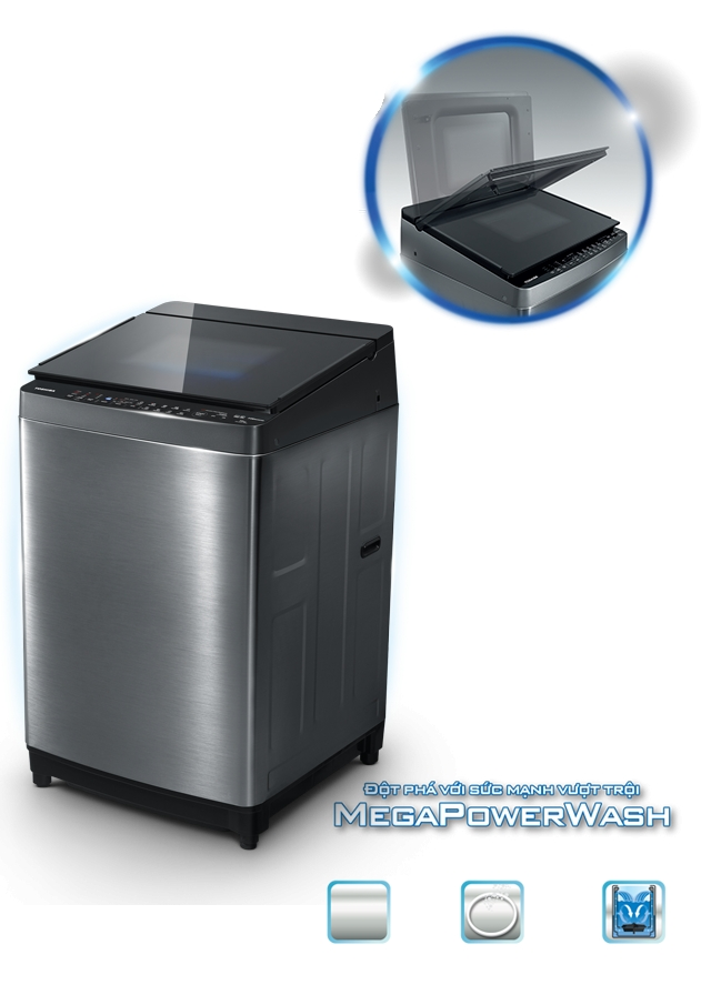 Máy giặt Toshiba Inverter 15 kg AW-DG1600WV (SK).
