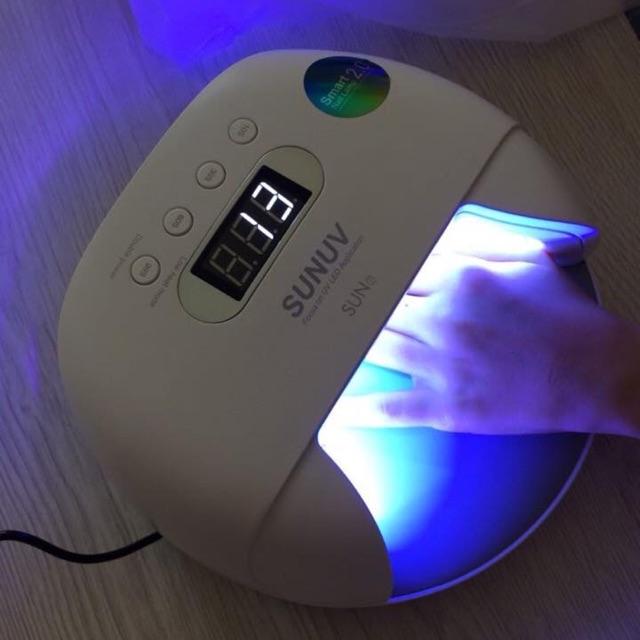 Máy hơ gel Sun 7 30 bóng UV Led tích điện 48w